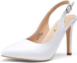 Women's Slingback Stiletto High Heels Pumps Elegent...