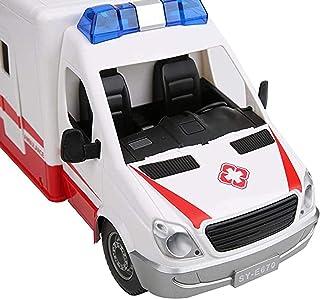 Desconocido 1//43 Ambulancia Miller-Meteor ROJA Ambulance 112 Atlas