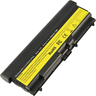 9 Cell Extended Life Battery for Lenovo ThinkPad E40 E50 L410 L412 L420 L421 L510 L512 L520 T410 T420 T510 T520 W510 W520 E420 E425 E520 E525, 14