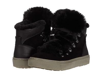 Cougar Daniel Waterproof (Black Suede/Leather/Faux Fur) Women