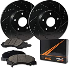 KT076742 OE Series Rotors + Ceramic Pads Max Brakes Rear Premium Brake Kit Fits: 2005 05 2006 06 2007 07 Buick Allure