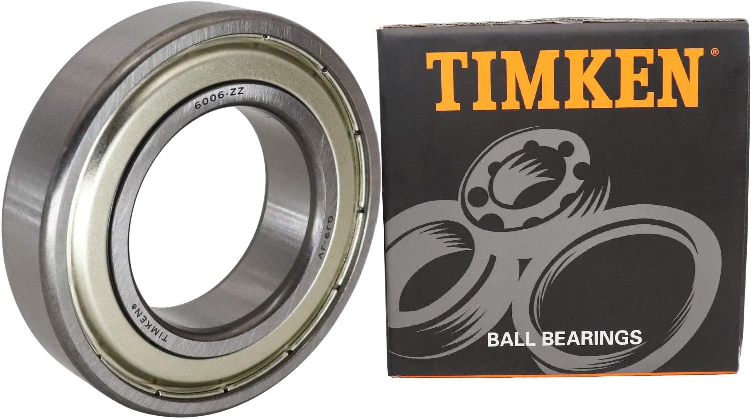 XiKe 2 Pcs 6006ZZ Double Metal Seal Bearings 30x55x13mm Deep Groove Ball Bearings. Pre-Lubricated and Stable Performance and Cost Effective