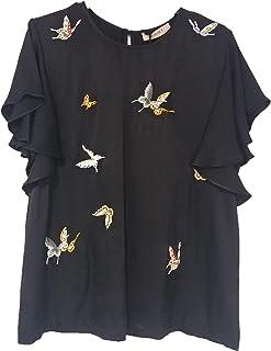 ede9d99727f185 Amazon.it: camicia nera donna - 200 - 500 EUR: Abbigliamento