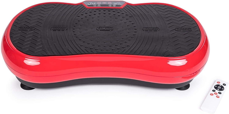 ZEN SHAPER® MINI Plataforma Fitness ultradelgada vibratoria (modelo 2021) - Acondicionamiento corporal estético – Altavoces y música por Bluetooth - Elimine grasa, restaure la elasticidad muscular