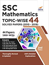 SSC Mathematics Topic-wise 44 Solved Papers (2010-2019) 3rd Edition