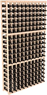 Wine Racks America Pine 10 Column Wine Cellar Kit. Unstained