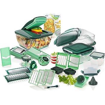prodotto noto in TV griglie affilate per tagliare inclusiinserto per pomodori e spazzola di pulizia Genius Nicer Dicer Chef