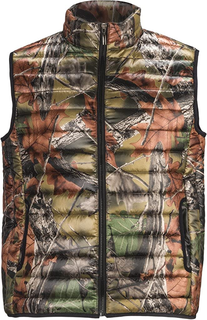 Trail Crest Men's Ultra-Thermic Running Warm Padded Quilted Hiking Camping Riding Vest