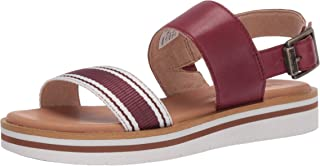 Timberland Adley Shore Fabric and Leather Ankle Strap Sandal womens Sandal