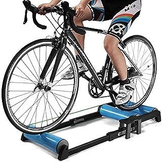 ลูกกลิ้งเทรนเนอร์จักรยานในร่มออกกำลังกายที่บ้านการขี่จักรยานการฝึกอบรมฟิตเนสเทรนเนอร์จักรยาน MTB Road Bike Rollers
