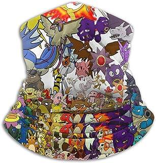 Custom made Pokemon - Braga de microfibra para el cuello para hombre y mujer