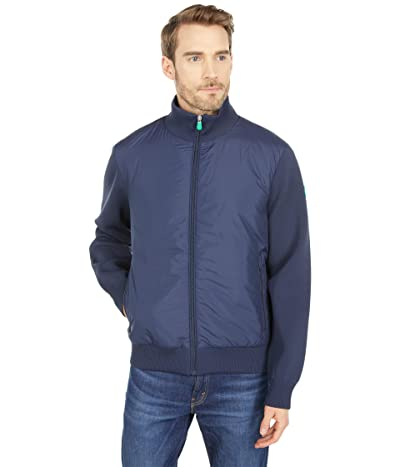 Save the Duck Peter REMI Recycled Polyester Mixed Media Zip-Up Jacket