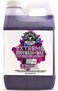 Chemical Guys CWS20764 Extreme Bodywash & Wax Foaming Car Wash Soap (Works with Foam Cannons, Foam Guns or Bucket Washes),...