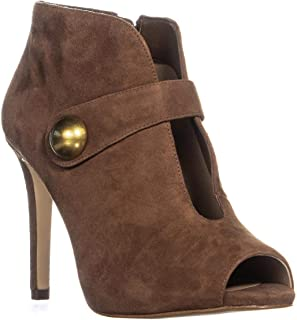 Womens Agnes Suede Ankle Booties