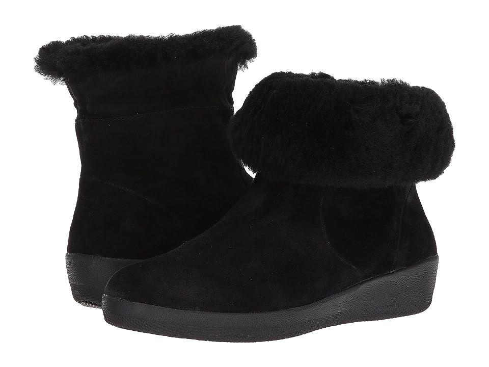 77a931589eeb FitFlop Skatebootie (Black) Women s Boots