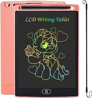JOEAIS LCD Tablette D'écriture 8.5 Pouces Coloré, Anti-Chute D'écriture électronique Planche à Dessin numérique Tablette G...