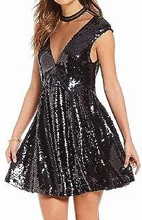 Free People Womens Cap Sleeves Illusion Semi-Formal Dress