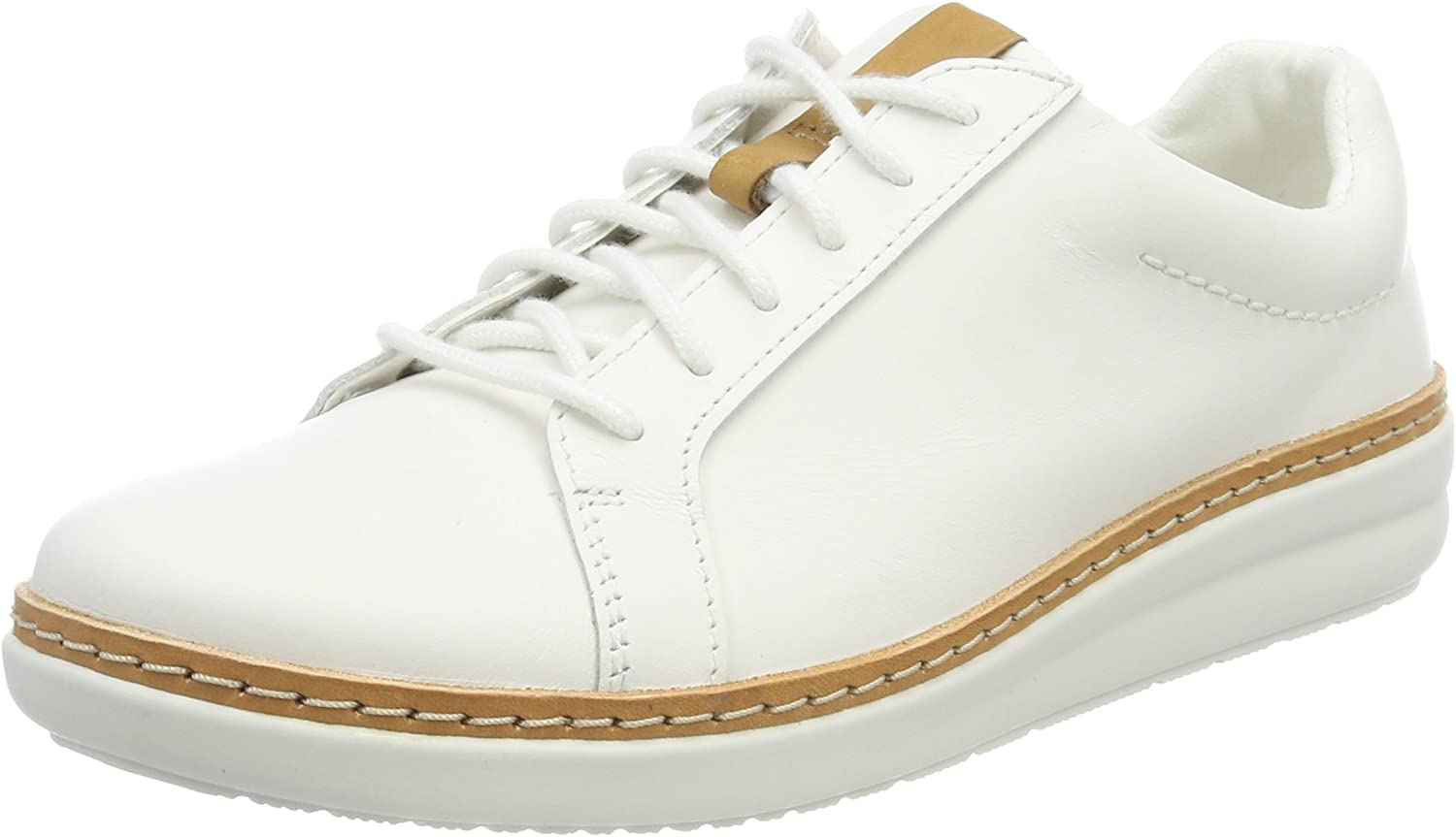 Clarks - Amberlee pink - 26132659 - color  White - Size  10.0
