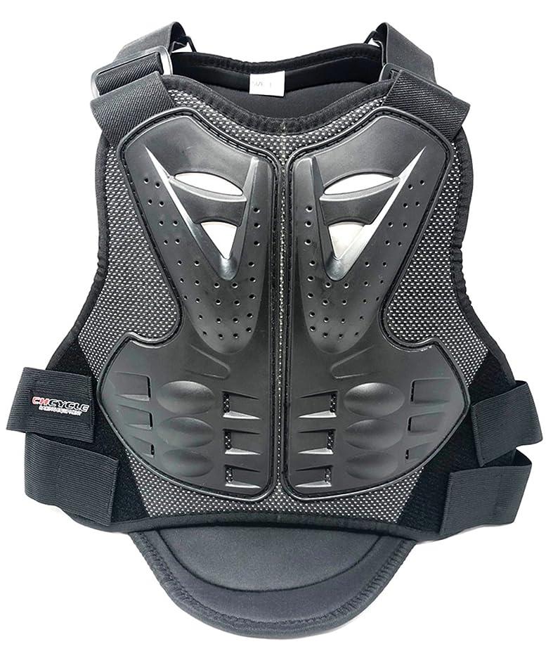 巻き取りキャンパス陪審sesta7 バイク用 胸部プロテクター オートバイプロテクター メッシュ 通気 上半身保護 胸 背中 (Mサイズ)