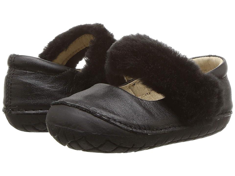 Old Soles Pet Jane (Infant/Toddler) (Black/Black) Girl