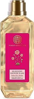 Forest Essentials Silkening Shower Wash Indian Rose Absolute 130ml (Body Wash)