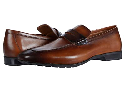 Bruno Magli Dorino (Cognac/Dark Brown) Men