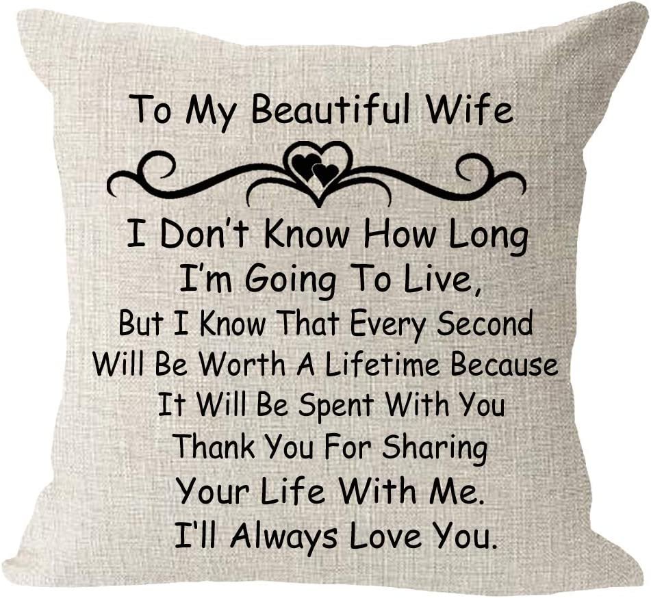 The Best Miami Mall Bless Memphis Mall Gift to Wife Birthday Throw Square W Linen Cotton