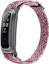 HONOR Band 5 Sport Smartwatch, Eco-vriendelijke Vezel armband met 2-Wegen Dragen Fitness Tracker voor Zwemmen Rennen Baske...