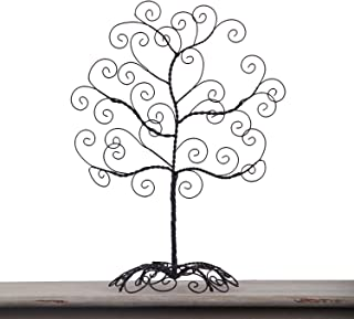 Adeco Twisted Iron Tree Picture Photo Ornament Card Table Desk Holder