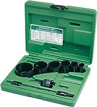 Greenlee 830 Bi-Metal Hole Saw Kit, Conduit Sizes 7/8