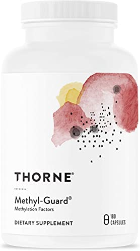Thorne Research - Methyl-Guard - Methylation Support Supplement with Folate and Vitamin B12 - 180 Capsules product image