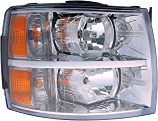 Headlight Headlamp For Chevrolet Chevy Silverado/1500 Hybrid Passenger Right Side Rh 2007 2008 2009 2010 2011 2012 2013