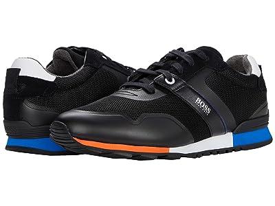 BOSS Hugo Boss Parkour Run Sneakers by BOSS (Black) Men