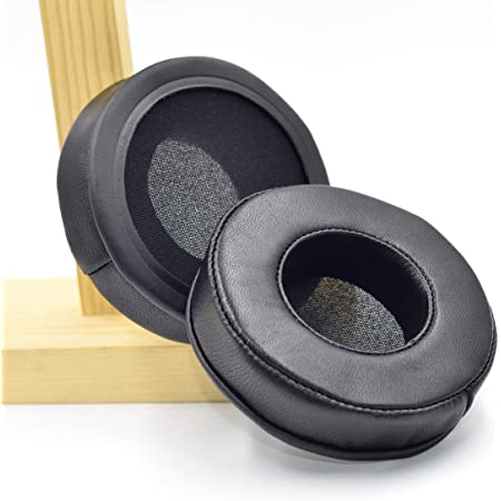 90mm Diameter Real Sheepskin Leather Replacement Cushion Ear Pads for AKG K545 K845BT K540 Headphone/JBL E50BT E50 BT S500 S700 Headphone/Pioneer HDJ1000 HDJ2000 HDJ1500 Headphones
