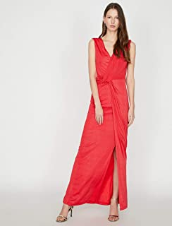 e35f246f06dbd Amazon.com.tr: Kırmızı - Günlük / Elbise: Moda