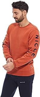 Nicce Sweatshirts For Men, Orange L