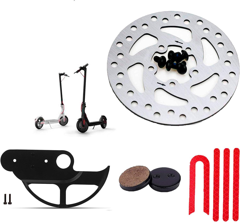 ANSENI Discos de Freno,Protector para Discos de Freno, Juegos de Pegatinas Compatible para Patinete Electrico Xiaomi Mijia M365 Pro,1s,pro2, Piezas de Recambios Xiaomi Scooter Eléctrico
