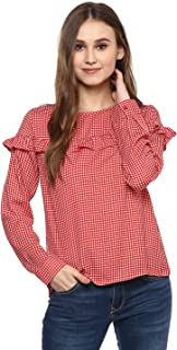 Harpa Women Checkered Top