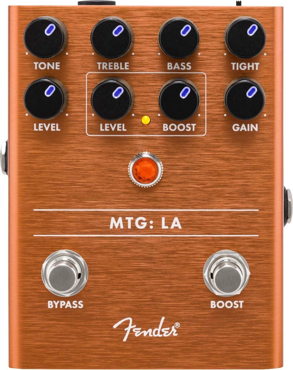 Fender® Pedales de efecto de suelo para bicicleta MTG: LA