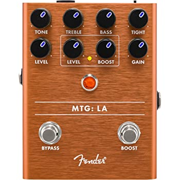 Fender MTG: LA Tube Distortion Electric Guitar Pedal