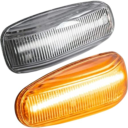 Phil Trade Led Seitenblinker Kompatibel Für W202 S202 W210 S210 A208 C208 R170 Klarglas 7231 Auto
