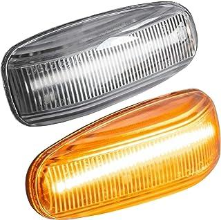 sinistro Set di classe c Limousine Kombi W202/nuovo Coppia di frecce luce lampeggiante di direzione luminoso bianco destro
