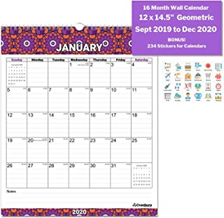 Best at a glance large wall calendar Reviews