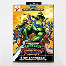 Tmnt tournament fighters 16 bit SEGA MD Game Card With Retail Box For Sega Mega Drive For Genesis ,Sega Genniess-Sega Ninento,16 bit MD Game Card