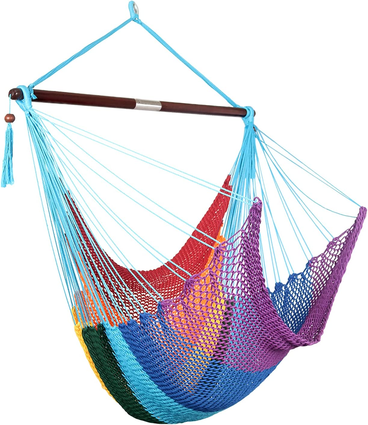 Moonlight Caribbean Direct sale of manufacturer Hammock Hanging Quantity limited Han Polyester Chair Durable