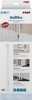 Reer WallFlex Baseboard Set for Wall Skirtings, White