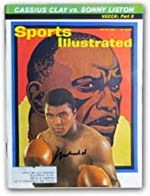 Muhammad Ali Signed Autographed Sports Illustrated Magazine 5/24/65 JSA Z68862