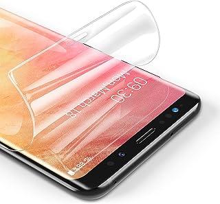 RIWNNI [3 Pezzi Pellicola Protettiva per Samsung Galaxy S9 Plus, Ultra Sottile Morbido TPU Pellicola Copertura Completa Pr...