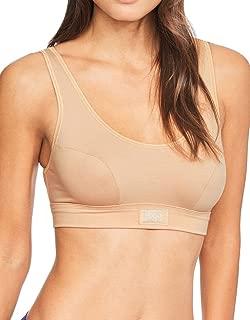 Sloggi Womens Double Comfort Cotton Rich Non Wired Bra 10022574 Black, White Or Skin
