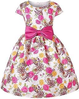 c44d70501 GS-99 Niñas fuera del hombro Bowknot princesa vestido de encaje de malla  niña de